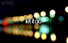 Let it go - in progress..