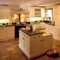 Walnut country kitchen | Country kitchen ideas - 10 of the best | housetohome.co.uk