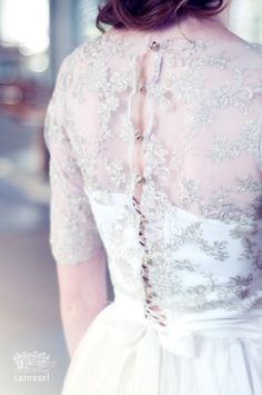 Gold lace wedding top by CarouselFashion on Etsy