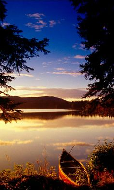Autumn Evening, Peace Lake - Android Wallpapers, HTC T-Mobile G2, G1 Wallpapers free download