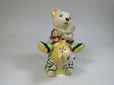 VINTAGE PIGGYBACK STACKED BEARS SALT AND PEPPER SHAKERS~JAPAN | Collectibles, Decorative Collectibles, Salt & Pepper Shakers | eBay!