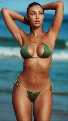 Damen Monokini Sport Bikini Stretch Schwimmen Racing Bademode Badeanzug Pro KUS
