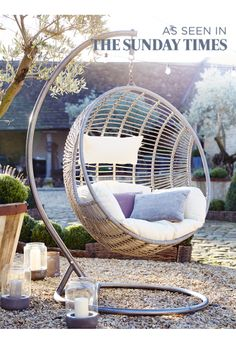 Indoor Outdoor Hanging Chair - Indoor Living