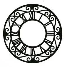 Image result for old clock faces free printables