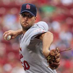 starting pitcher- Adam Wainwright  7-13-12