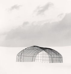 Greenhouse Structure, Study 1, Rubeshibe, Hokkaido, Japan. 2004