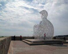 Jaume Plensa: Le Nomade, 2010, Antibes