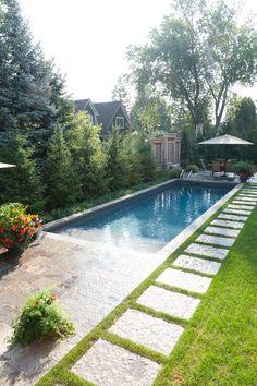The Drozdowskis Inground Pools Showcase - Pioneer Family Pools