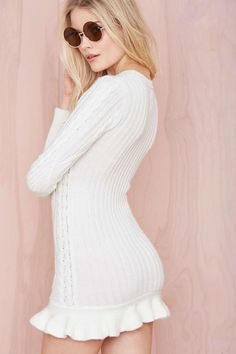 UNIF Alleger Sweater Dress | Shop What's New at Nasty Gal