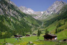 Malga Wollbach - Dalla chiesa di San Giacomo - Sankt Jakob in Valle Aurina (1180 m; strada da Brunico) si segue l'indicazione «Wollbachalm» ed il sentiero 5, dapprima in parte sulla strada dei masi e per prati fino al bosco. Si continua sul sentiero 5, assai erto ma non difficile, e negli ultimi minuti su strada forestale, arrivando infine alla malga Wollbachalm (1607 m, con posto di ristoro; ore 1.30) Alps, Trekking, Hiking, Mountains, Travel, Nature, Beauty, Italia, Missing Home