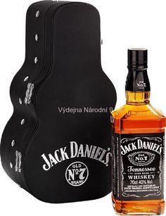 Jack Daniel Gift Box balení kytara