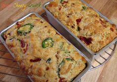 Spicy Cheesy Jalapeno Quick Bread