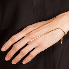 GOLD HANDBRACE by Vibe Harslof