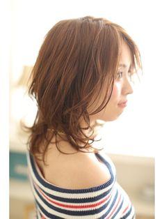 ☆Zina☆小顔ひし形レイヤー鎖骨ミディ