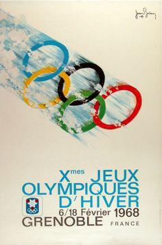 Vieilles affiches des Jeux olympiques