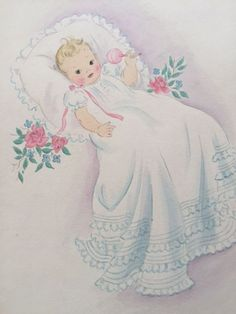3 Nursery Watercolors, DAC Collection - Donald Art Company Collection