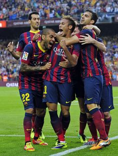 Goals from Neymar and second-half substitute Alexis Sanchez gave Barcelona a win at home against arch rivals Real Madrid in the Camp Nou Stadium. Camp Nou, Alma Mater, Neymar Jr, Fc Barcelona, Real Madrid, Beats, Football, Sports, Gallows