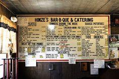 Hinze's BBQ in Wharton - the Best!