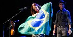 """""""A visit from Sharon Corr - Part II"""" Brasil 2013"""