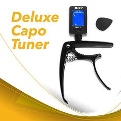 Guitar Capo Tuner for Acoustic and Electric by Gain Music Gear  Clips On Strings  Battery Included -- Check out this great product.Note:It is affiliate link to Amazon. #beautiful