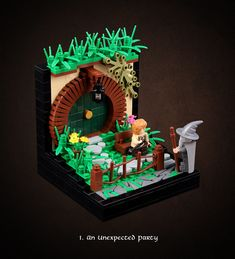 Hobbit 1, Lego The Hobbit, Pearl Images, Lego Stormtrooper, Lego Wall, Brick In The Wall, The Hobbit Movies, Lego Store, Lego Minifigs