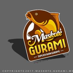 "50 Likes, 9 Comments - IDEAS PROJECT (@ideasproject.id) on Instagram: ""Logo Maskote Gurami Done 😊 #fishlogo #makelogo #simplelogo #gurami #gurame #crapfish #crap…"""