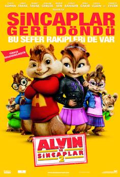 Alvin And The Chipmunks: The Squeakquel - Alvin ve Sincaplar 2 720p