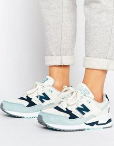 Синие кроссовки New Balance 530