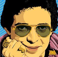 Frankie Ruiz, Cool Stencils, Salsa Music, Watercolor Sunflower, Hip Hop Art, Amazing Spiderman, Esquire, Caricature, Celia Cruz