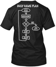 Daily Game Plan - Geocaching