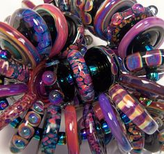 """""""Enchanted"""" Glass Artisan Beads by Dawn Scannell"""
