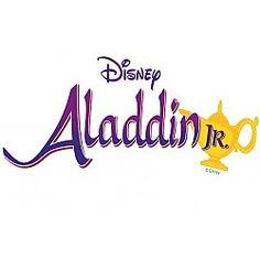 aladdin jr logo with fringe aladdin pinterest rh pinterest com aladdin jr logo vector