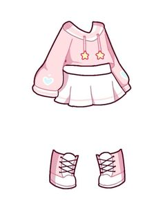 Manga Clothes, Drawing Anime Clothes, Cartoon Outfits, Anime Outfits, Character Outfits, Cute Anime Character, Iron Man Drawing, Anime Drawing Styles, Fashion Drawing Dresses