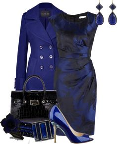 """""""black and blue"""" by meganpearl on Polyvore (I need a boobjob so I can fit in tiny tops like this!)"""