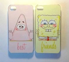 Cute phone cases for best friends and/or boyfriends and girlfriends!