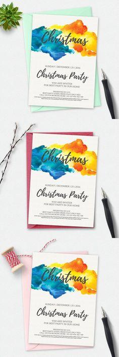 Christmas Flyer Template. Flyer Templates. $6.00