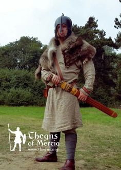 7th century Anglian warrior, Thegns of Mercia.