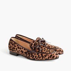 Women's Academy Loafers In Calf Hair - Women's Footwear | J.Crew