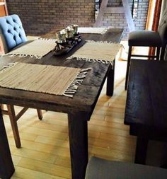 Pub Height Farmhouse Table