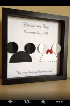 Disney 25th wedding anniversary gift ideas