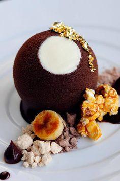 Indulge in gold with 'La Sfera' at the #Armani Hotel Dubai.