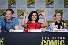 ONCE UPON A TIME PANEL AT SAN DIEGO COMIC CON