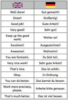 German | Praise