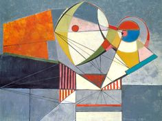 Werner Drewes, abstract, 1944