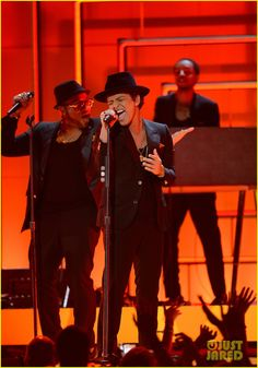 Bruno Mars @ The Grammy's.