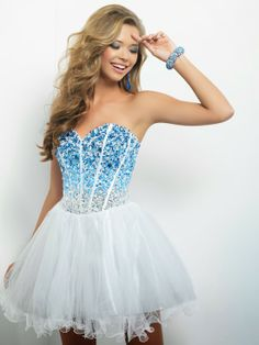 Prom Dresses 2014 New Arrival A Line Sweetheart Short Mini Homecoming Dresses With Beads Sweet , You will find many long prom dresses and gowns from the top formal dress designers and all the dresses are custom made with high quality Hoco Dresses, Dance Dresses, Homecoming Dresses, Bridal Dresses, Formal Dresses, Dress Prom, Dresses 2014, Prom Gowns, Party Dress