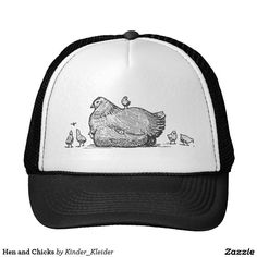 c68a09a8 Hen and Chicks Trucker Hat Chile Flag, Gift Ideas, Gadgets, Chicken Hats,