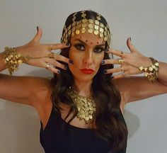 Fantasy Make Up, Bad Hair Day, Hair Jewelry, Halloween Costumes, Hair Accessories, Bling, Costume Ideas, India, Beauty