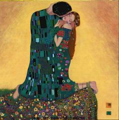 Kiss II by Gustav Klimt