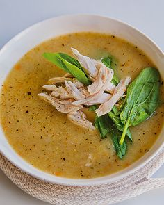 A delish and healthy weeknight soup!